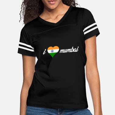 Mumbai I LOVE MUMBAI! GIFT IDEA FOR TRAVELERS. - Women's Vintage Sport T-Shirt