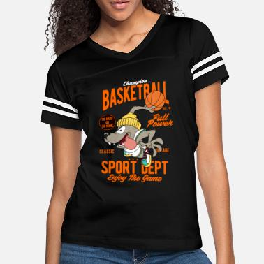 Champion Basketball, Dog - Women's Vintage Sport T-Shirt