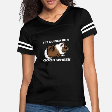 Work Week It s Guinea Be A Good Wheek 2a - Women's Vintage Sport T-Shirt