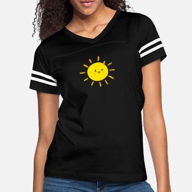 Proud Sunny12, For Perfect Sunny Sun Summer Experienced - Women's Vintage Sport T-Shirt