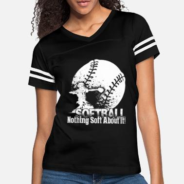Softball GIRLS SOFTBALL SHIRT - Women's Vintage Sport T-Shirt