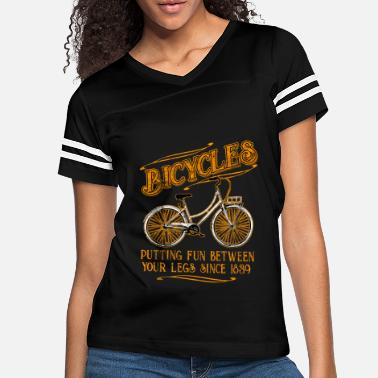 Bicycling Bicycle Bicycles - Women's Vintage Sport T-Shirt