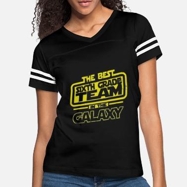The Best 6 Sixth Grade Team In The Galaxy - Women's Vintage Sport T-Shirt