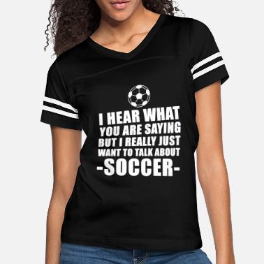 Soccer Soccer - cute soccer for boys or girls - funny s - Women's Vintage Sport T-Shirt