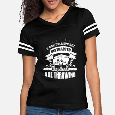 Axe Funny Axe Throwing Shirt - Women's Vintage Sport T-Shirt