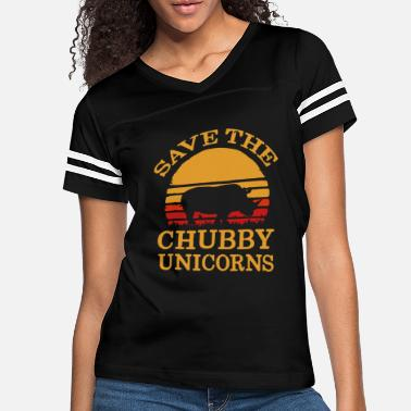 Save Save The Chubby Unicorns - Women's Vintage Sport T-Shirt