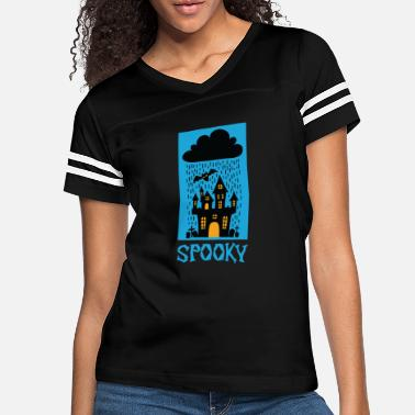 Vampire Spooky Halloween Trick or Treat Castel Party Gift - Women's Vintage Sport T-Shirt