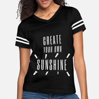 Modern Create your own sunshine shirt gift idea smiling - Women's Vintage Sport T-Shirt