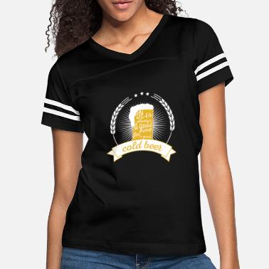 Idea It is always a good time for a good cold beer - Women's Vintage Sport T-Shirt