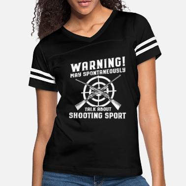 Long Range Shooting Shooting Sports/Shooter/Firing Range/Guns/Rifles - Women's Vintage Sport T-Shirt
