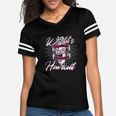 Hairdresser Hairdresser Christmas Birthday Gift Idea - Women's Vintage Sport T-Shirt