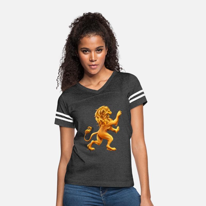 Women Lion Hd Vector Classic Drawstring Sweatshirt