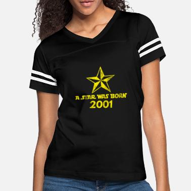 2001 Star Was born in 2001, year of birth, gift - Women's Vintage Sport T-Shirt