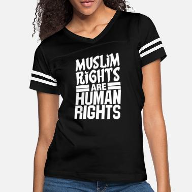 Muslim Awareness Muslim Rights Are Human Rights - Women's Vintage Sport T-Shirt
