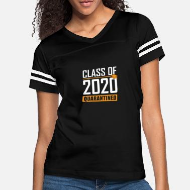 Class of 2020 Quarantined Graduation Senior - Women's Vintage Sport T-Shirt