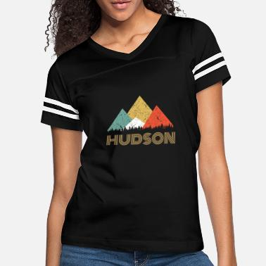 Hudson Retro City of Hudson Mountain Shirt - Women's Vintage Sport T-Shirt