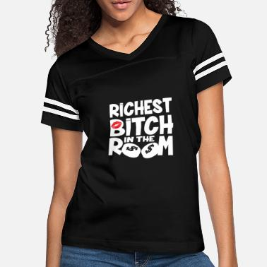 Proll rich boaster proll millionaire money women gift - Women's Vintage Sport T-Shirt