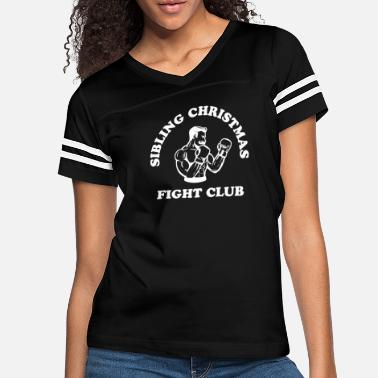 Sibling Christmas Fight Club - Women's Vintage Sport T-Shirt