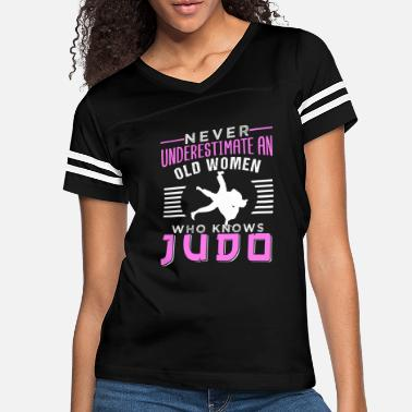 Judo Judo Fighter Martial Arts Fan Lover Sport judoka - Women's Vintage Sport T-Shirt
