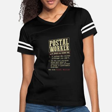 Postal Worker Dictionary Term - Women's Vintage Sport T-Shirt
