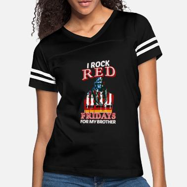 Friday brother germany DEPLOYMENT RED FRIDAY MILITARY - Women's Vintage Sport T-Shirt
