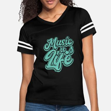 Music Is Life Music Is Life - Women's Vintage Sport T-Shirt