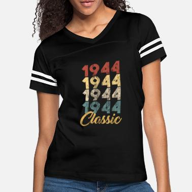 af5001a9 75th Birthday 1944 75th Birthday Gift for Men and Women Born in 1944 -  Women&#. Women's Vintage Sport T-Shirt