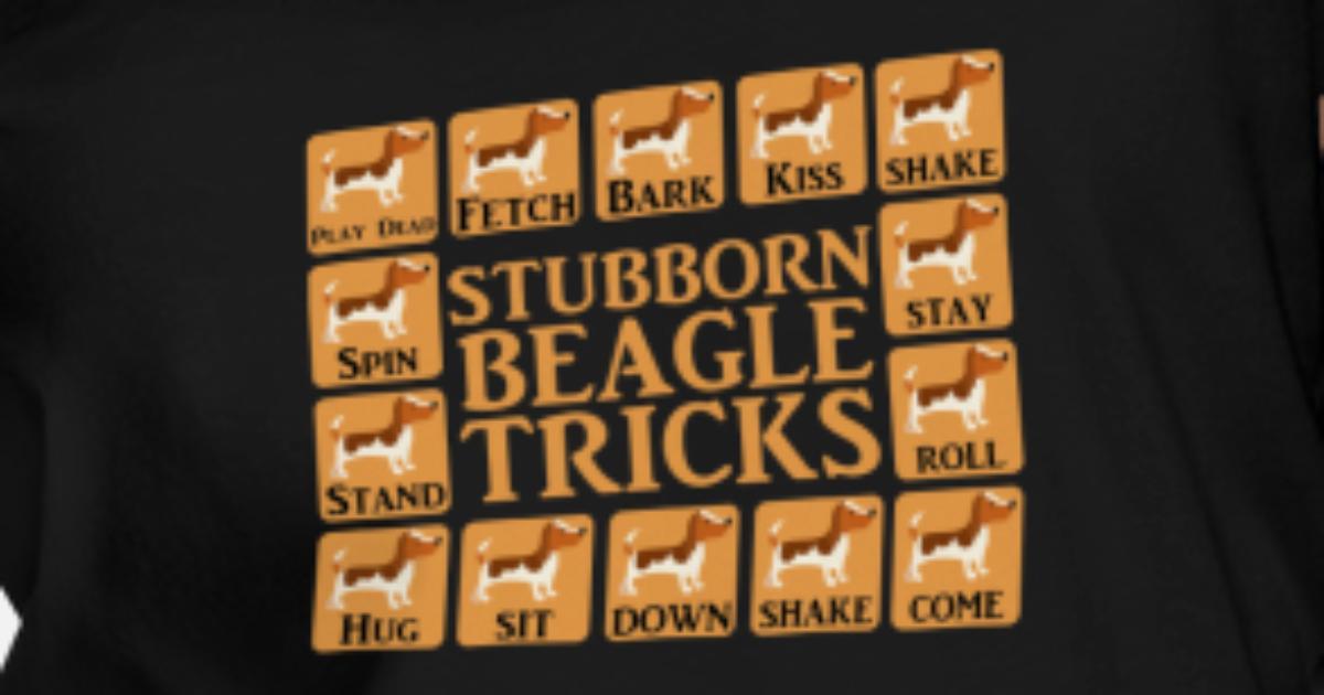 Beagle product - Stubborn Tricks - Funny Dog Gifts Women's Vintage Sport  T-Shirt | Spreadshirt