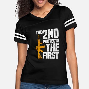 2nd Amendment T Shirt Ladies Right To Bear Arms Clothing Novelty Gun Tee Top