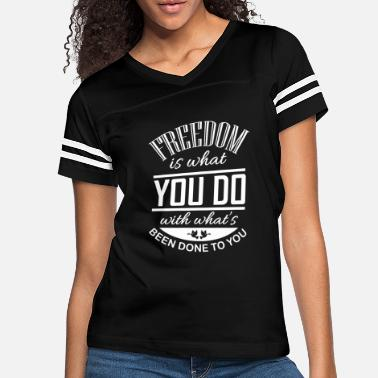 Freedom Of Expression Freedom - Women's Vintage Sport T-Shirt