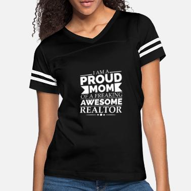Occasion Proud Mom of an awesome Realtor Mother's Day - Women's Vintage Sport T-Shirt