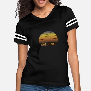 Soccer Vintage Beijing China Family Vacation Souvenir - Women's Vintage Sport T-Shirt