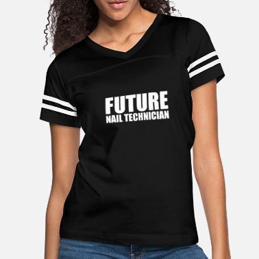 Christmas Future Nail Technician High School Graduate - Women's Vintage Sport T-Shirt