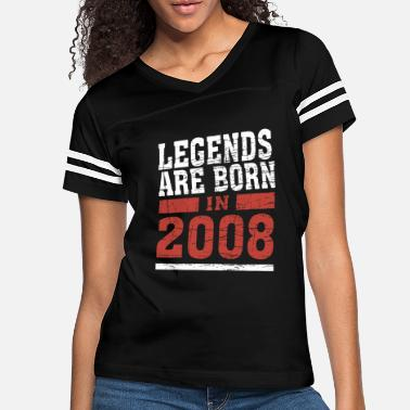 legends are born in 2018 10years old birthday emoj - Women's Vintage Sport T-Shirt