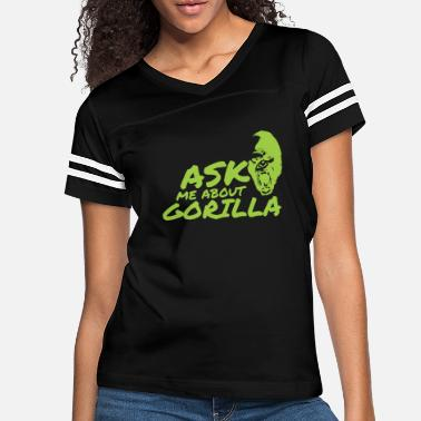 Ask Ask Me About Gorilla - Women's Vintage Sport T-Shirt