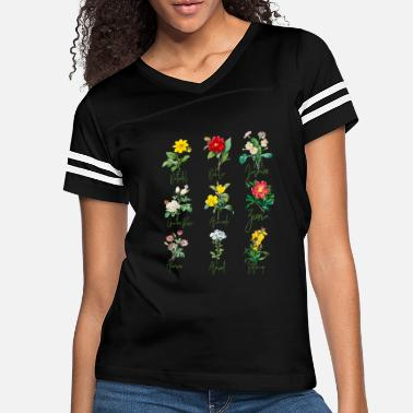 Botanical Vintage Botanical Beautiful Floral Flower Power - Women's Vintage Sport T-Shirt