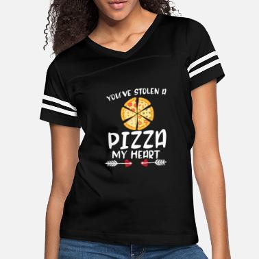 Father Son You've Stolen A Pizza My Heart Funny Valentines - Women's Vintage Sport T-Shirt