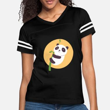 Litte Boy Litte Panda Bear - Women's Vintage Sport T-Shirt