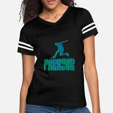 Mode Of Transport Parkour mode of transport parkour runner hobby - Women's Vintage Sport T-Shirt