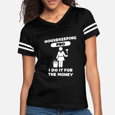 Salute Housekeeping Pro Funny Housekeeper Maid Cleaner - Women's Vintage Sport T-Shirt