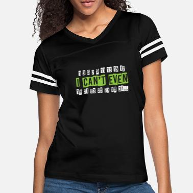 Mathematics I Can't Even Funny Math Pun Gift Math Gifts - Women's Vintage Sport T-Shirt