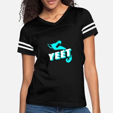 Back To School Yeet Funny Mermaid Gifts For Girls Mermaid Lover - Women's Vintage Sport T-Shirt