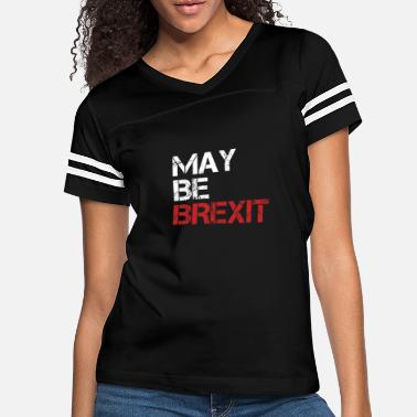 Union Jack May Be Brexit British UK Brexit Europe Exit Gift - Women's Vintage Sport T-Shirt