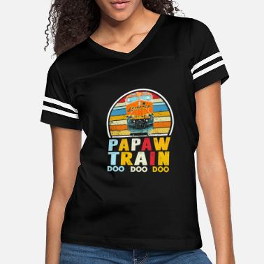 Bnsf Father s day BNSF 7547 Daddy Train doo doo doo - Women's Vintage Sport T-Shirt