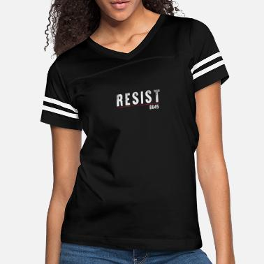 Political Anti President Protest Impeach Resist - Women's Vintage Sport T-Shirt