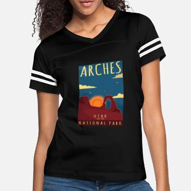 Los Angeles Arches National Park Utah-Hiking Camping Gift - Women's Vintage Sport T-Shirt