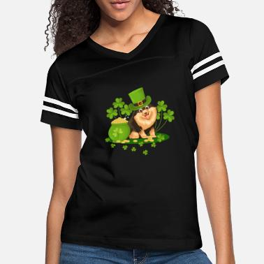Lucky Charm St Patrick's Day Dog - Women's Vintage Sport T-Shirt