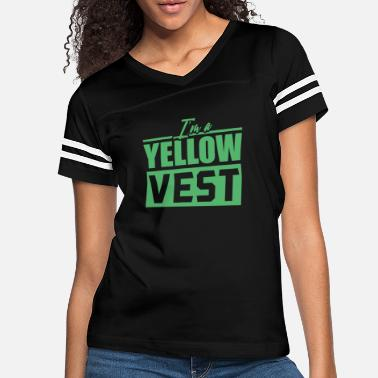 Yellow Demonstration Yellow Vests - Women's Vintage Sport T-Shirt