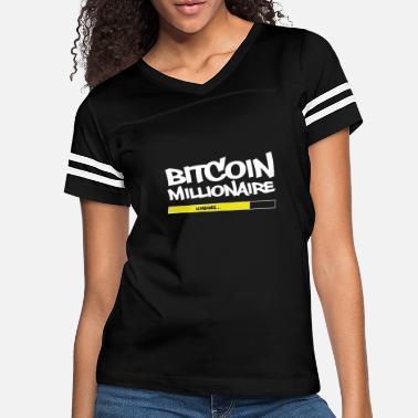 bdb0980b BITCOIN MILLIONAIRE - Women's Vintage Sport T-Shirt