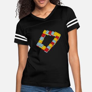 Toy optical illusion - endless steps - Women's Vintage Sport T-Shirt